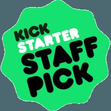 The old 'Kickstarter Staff Pick' badge
