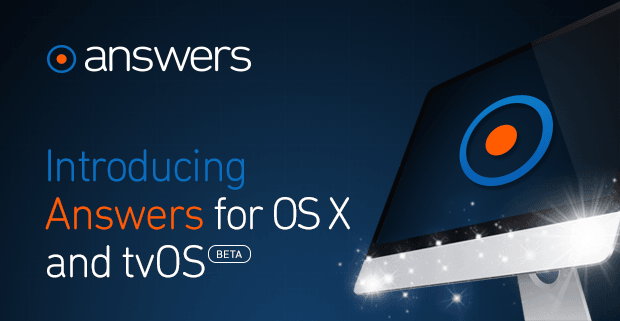 Crashlytics' Answers now available for Mac apps, supporting tvOS in beta