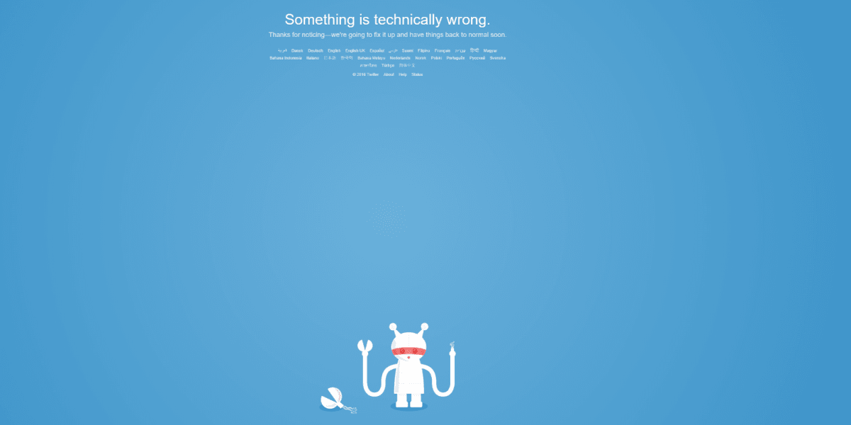 Twitter is down for some users around the world [Updated: It's back!]