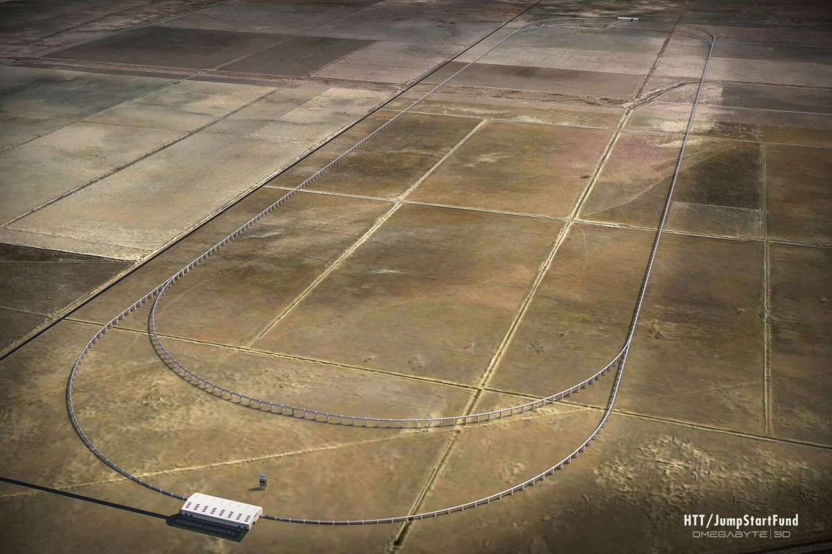 Hyperloop Transportation Technologies plans to build a test track in California this year