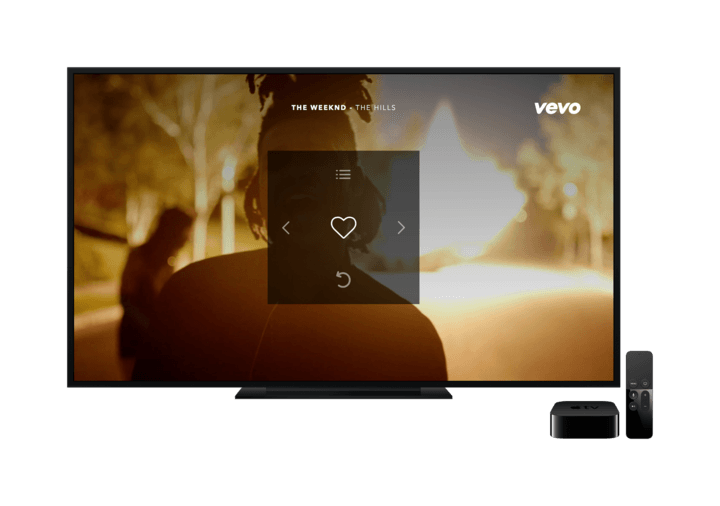 Vevo is now streaming on Apple TV and Android