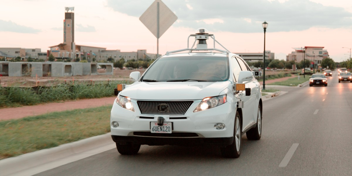 Google's driverless cars could soon be sitting in London's 4MPH rush-hour gridlock