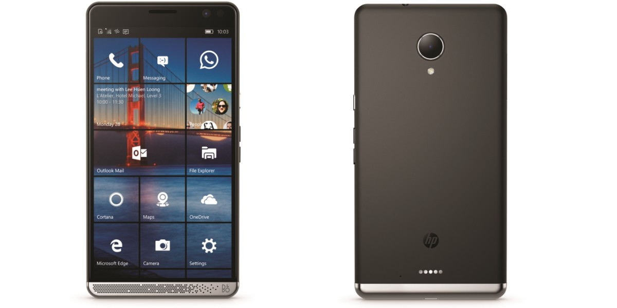 HP's monster spec Windows 10 smartphone is a brave move