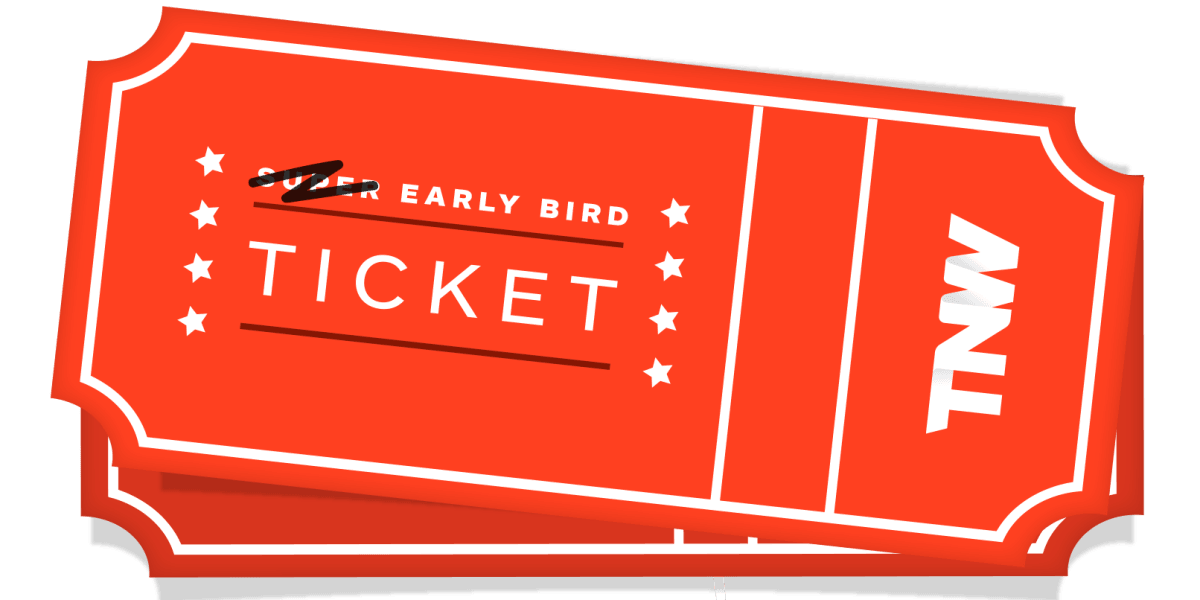 Your last chance to secure an Early Bird ticket to TNW Europe 2016
