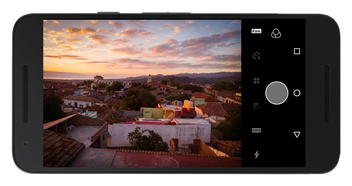Adobe Lightroom lets you shoot RAW – but only on Android