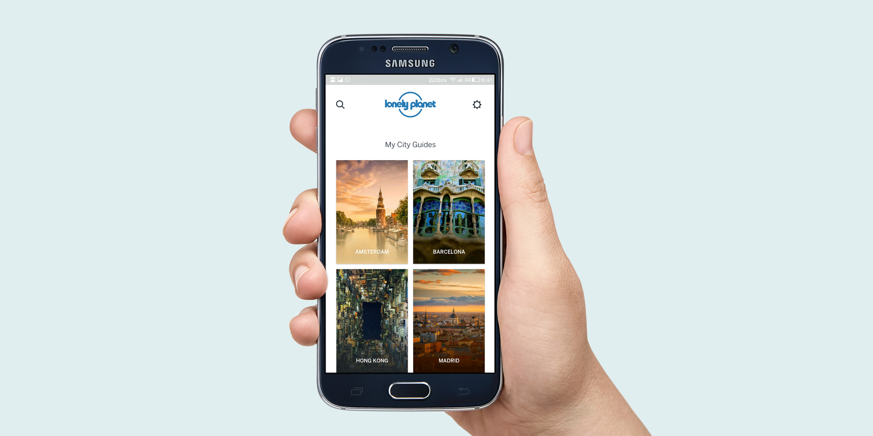 Lonely Planet's new app guides you through major cities