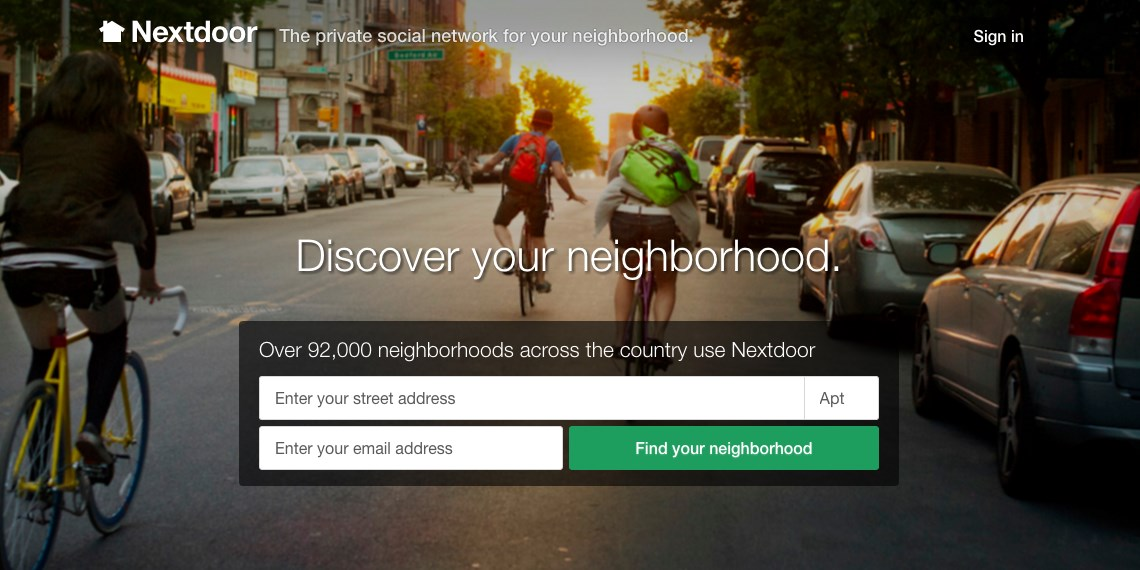 Neighborly social network Nextdoor launches in Europe