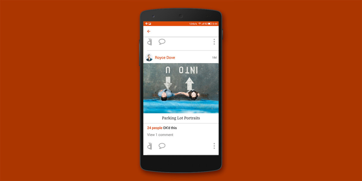OKDOTHIS for Android helps shutterbugs break their selfie habit