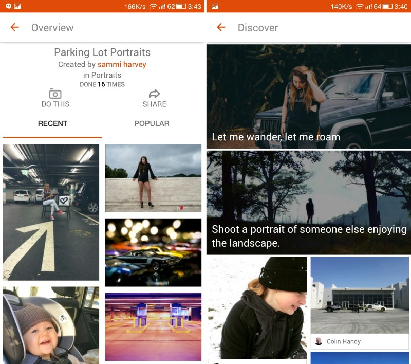 OKDOTHIS has loads of challenges to choose from and a vibrant community to share your photos with