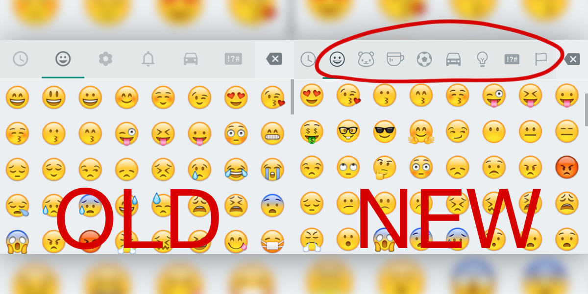 WhatsApp users are getting a ton more emoji on Android