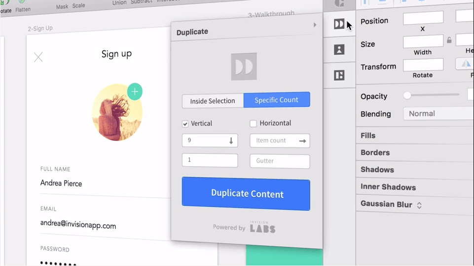Invision S New Craft Suite Of Plugins For Sketch And Photo Was Built Sd