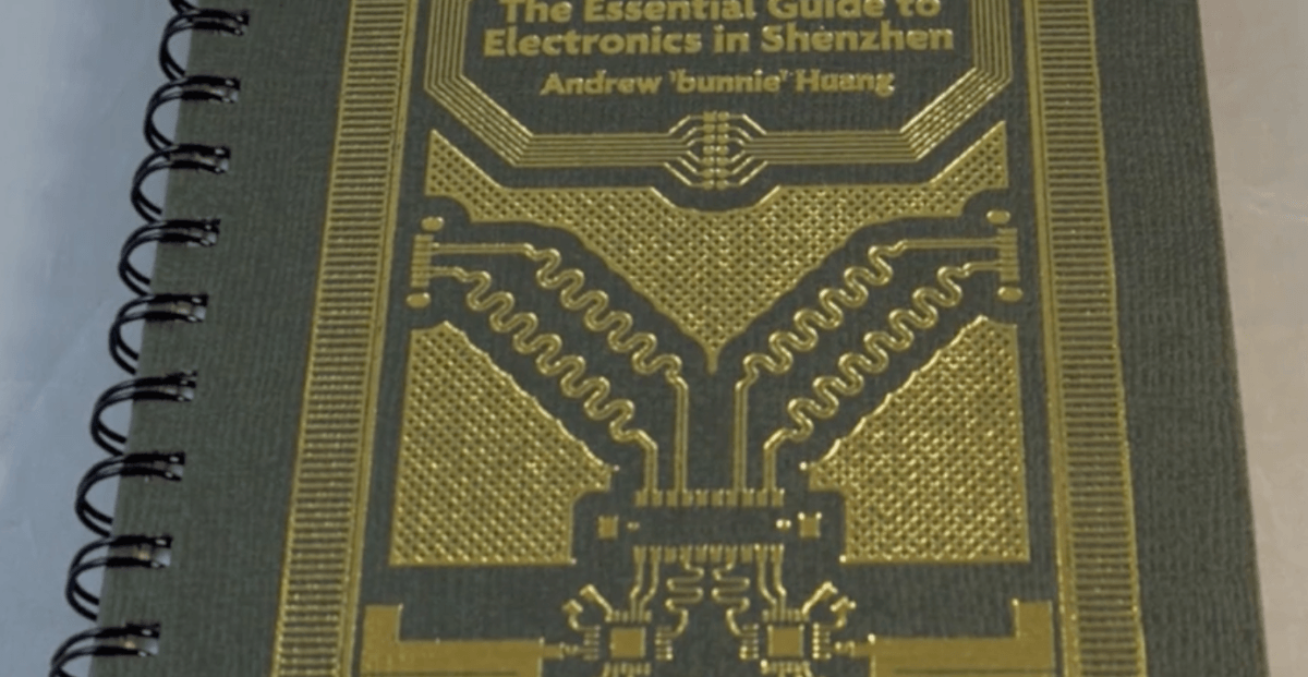 This beautiful book is perfect for makers wanting to visit electronic nerd heaven