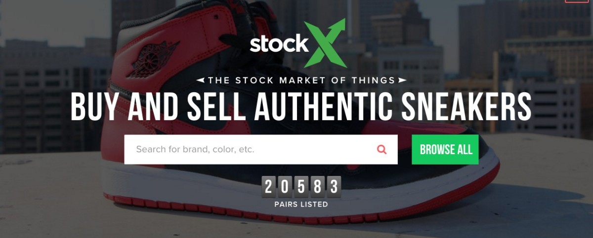 cb57b1a0 There's now an online stock market for sneakers