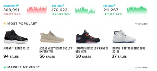 74986859 There's now an online stock market for sneakers