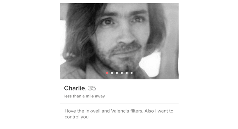 Tinder users are swiping right on serial killers