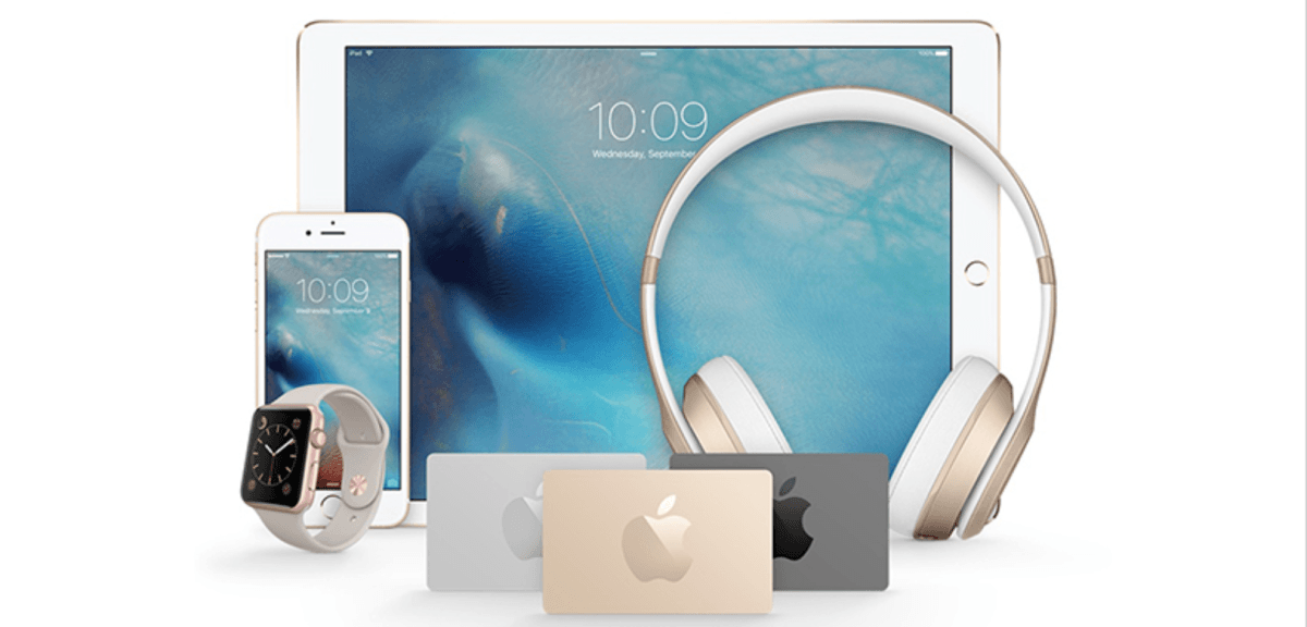The $1,000 Apple store giveaway