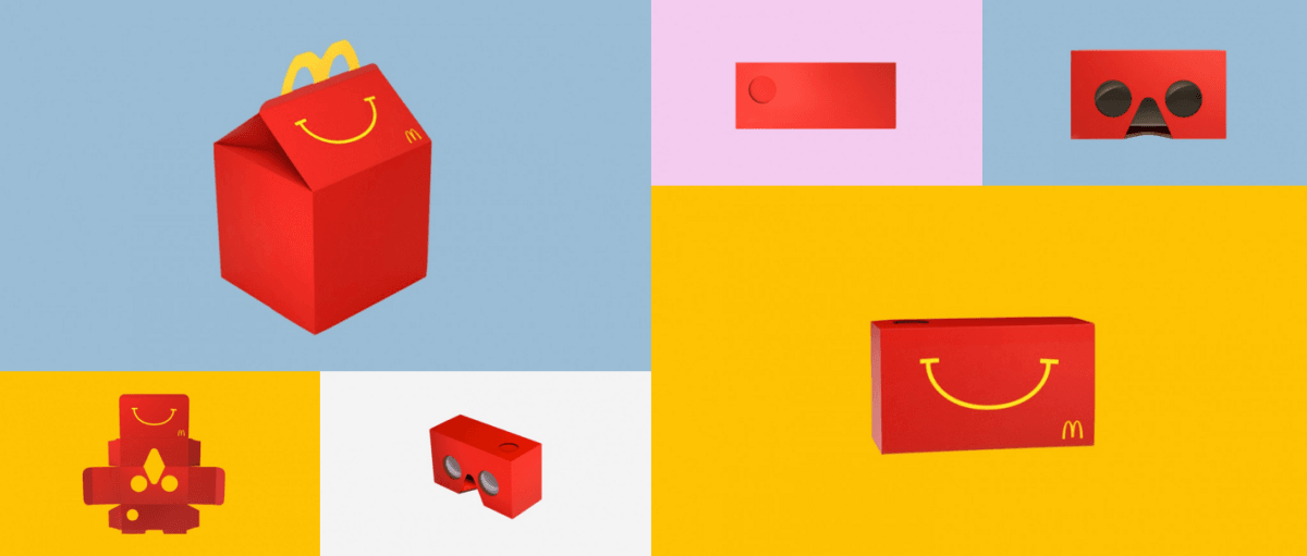 McDonald's VR headset costs less than $5 – but it might make your face smell like fries