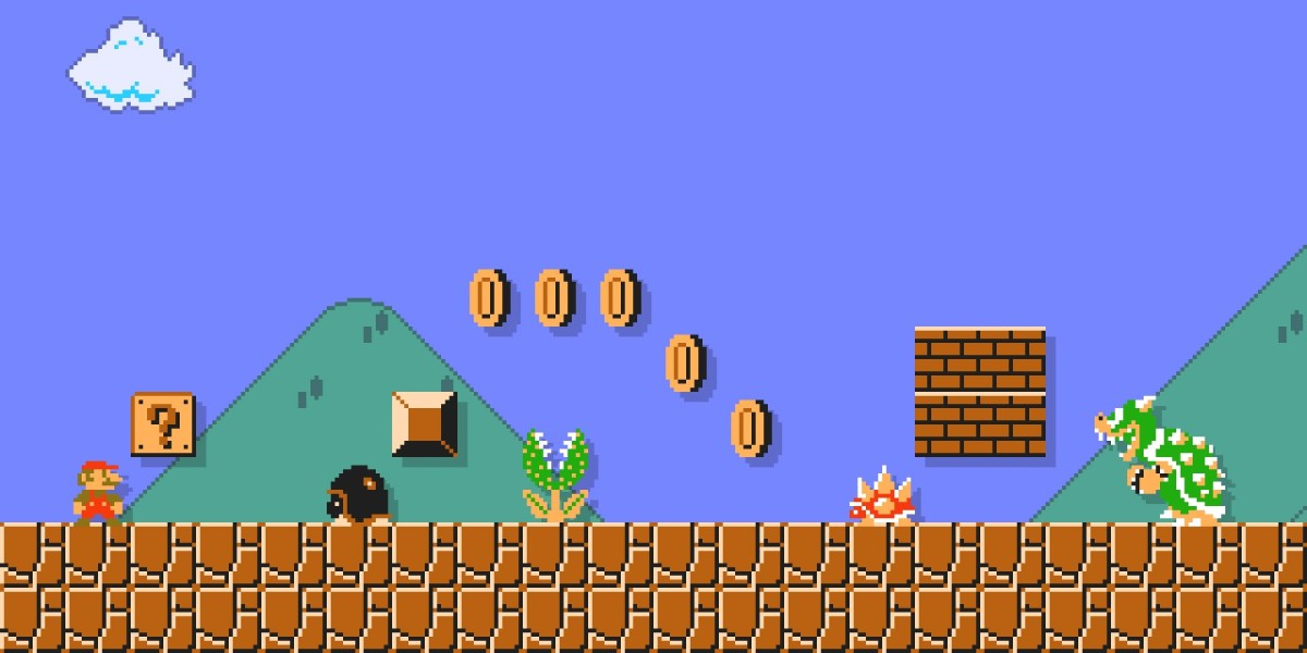 Bring Super Mario to your desktop or home screen with Nintendo's wallpaper app