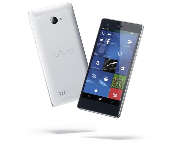 Vaio's first-everWindows phone is an all-aluminum affair