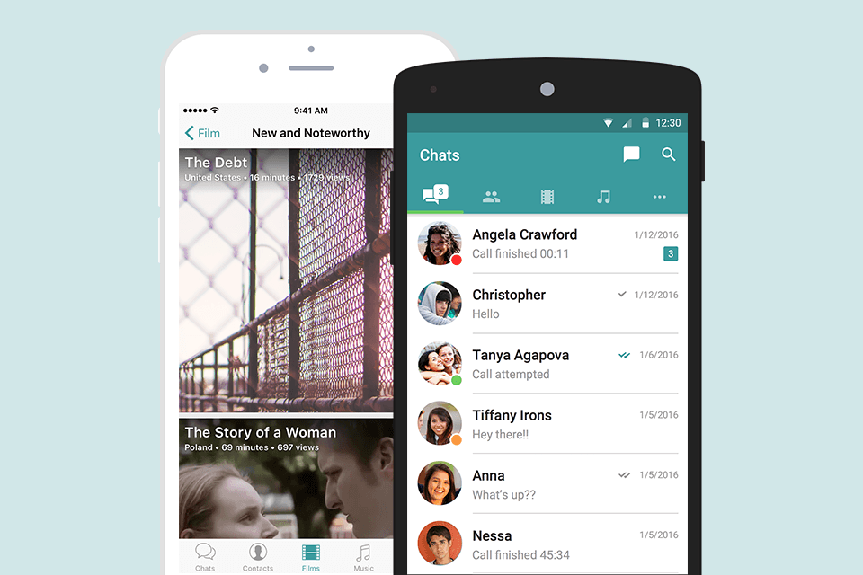 Messaging app 'Wiper' launches streaming service for indie flicks