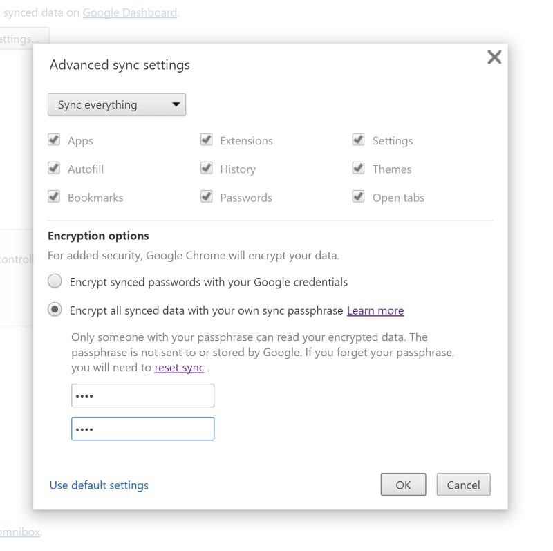 You can prevent Google from displaying your account details on its Passwords page with a simple setting
