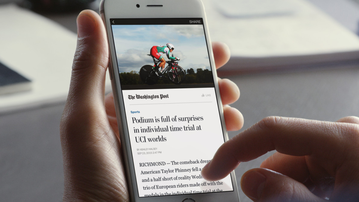 Facebook will soon let any publisher post Instant Articles