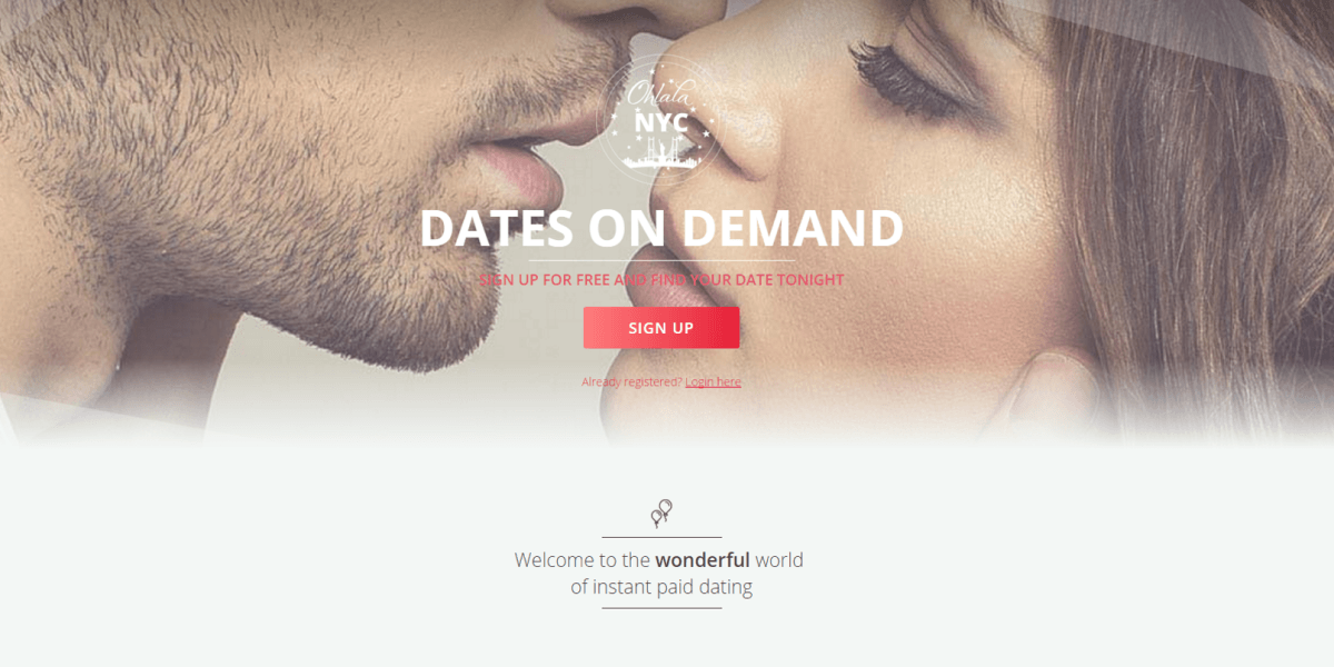 'Paid dating' service launches in NYC, but it's definitely not an escort app, OK?