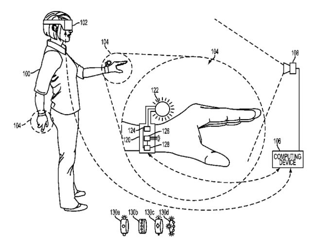 Sony's new VR control patent looks like something out of 'Tron'