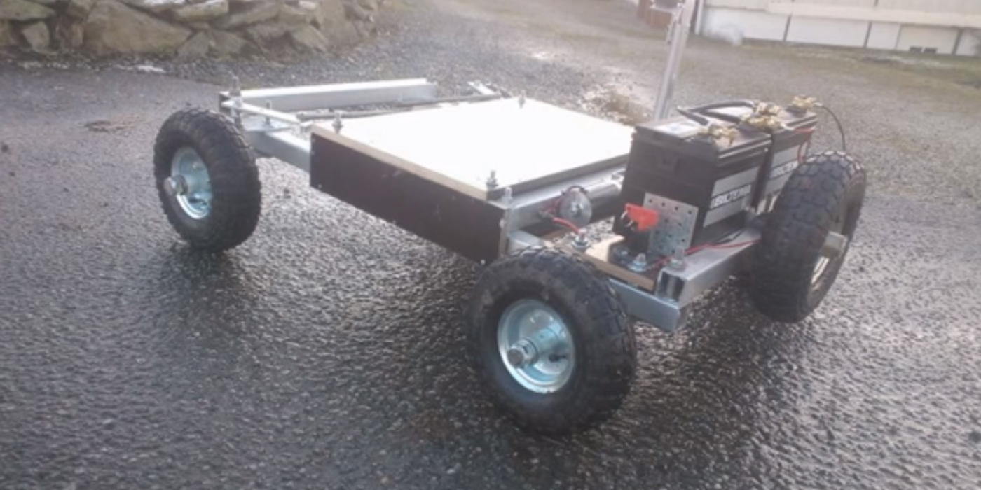 This remote control car will go anywhere there is 3G or 4G connectivity