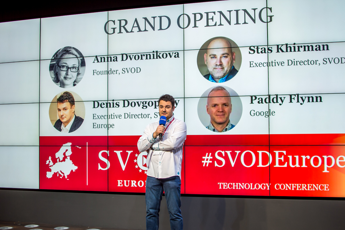 Denis Dovgopoliy, SVOD Europe's executive director and the founder of Ukrainian business accelerator GrowthUP