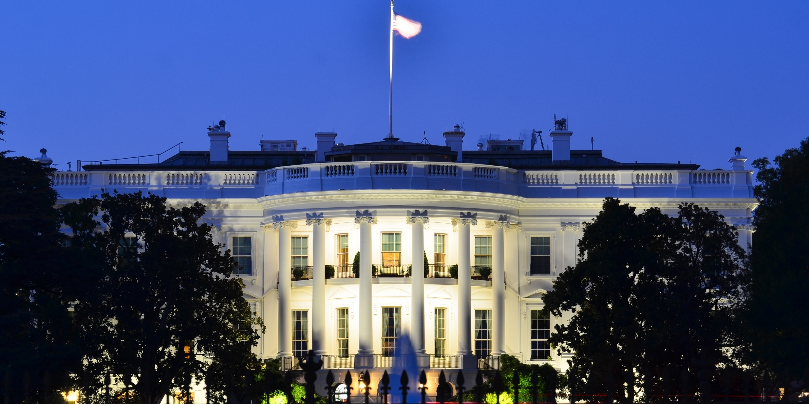 Crappy Wi-Fi signal? The White House has that problem too