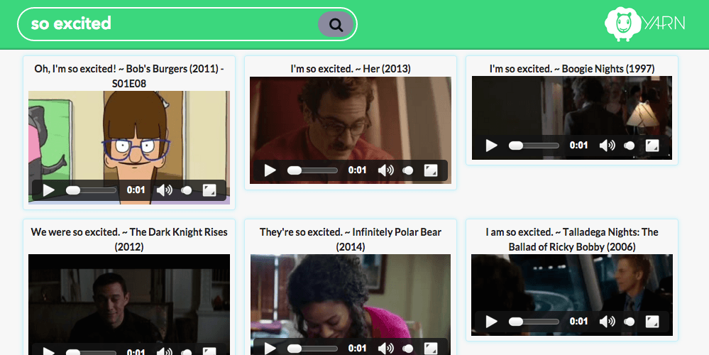 Yarn aims to spice up canned email responses with video clips