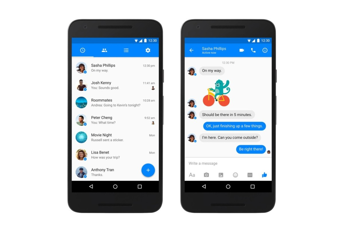 Facebook Messenger gets a Material Design makeover on Android