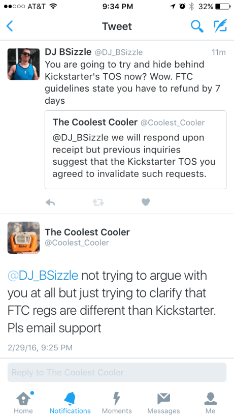 Coolest Cooler is flat broke and looking for an investor, but