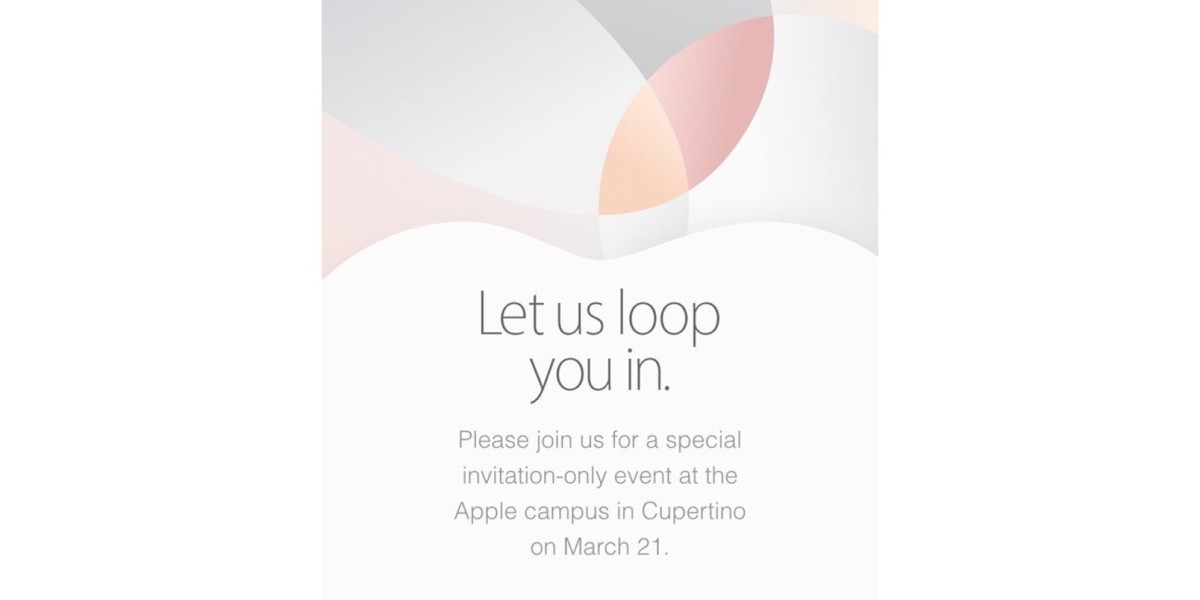 It's official: Apple's next event is March 21