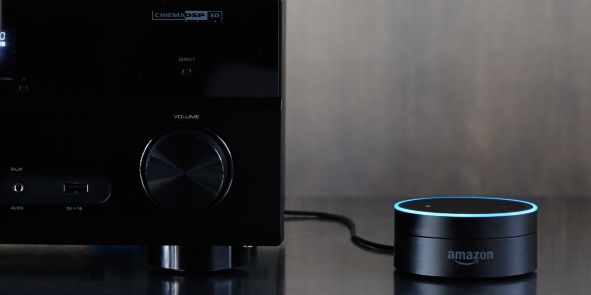 Amazon's tiny Echo puck speaker puts Alexa on any stereo