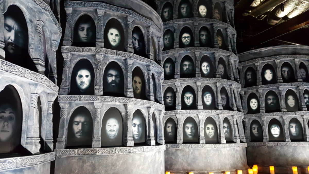 'Game of Thrones' returns to SXSW with The Hall of Faces interactive exhibit