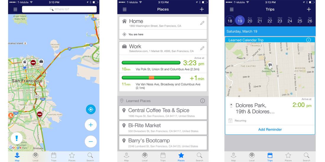Newly redesigned 'INRIX Traffic' app is the perfect marriage of GPS and machine learning