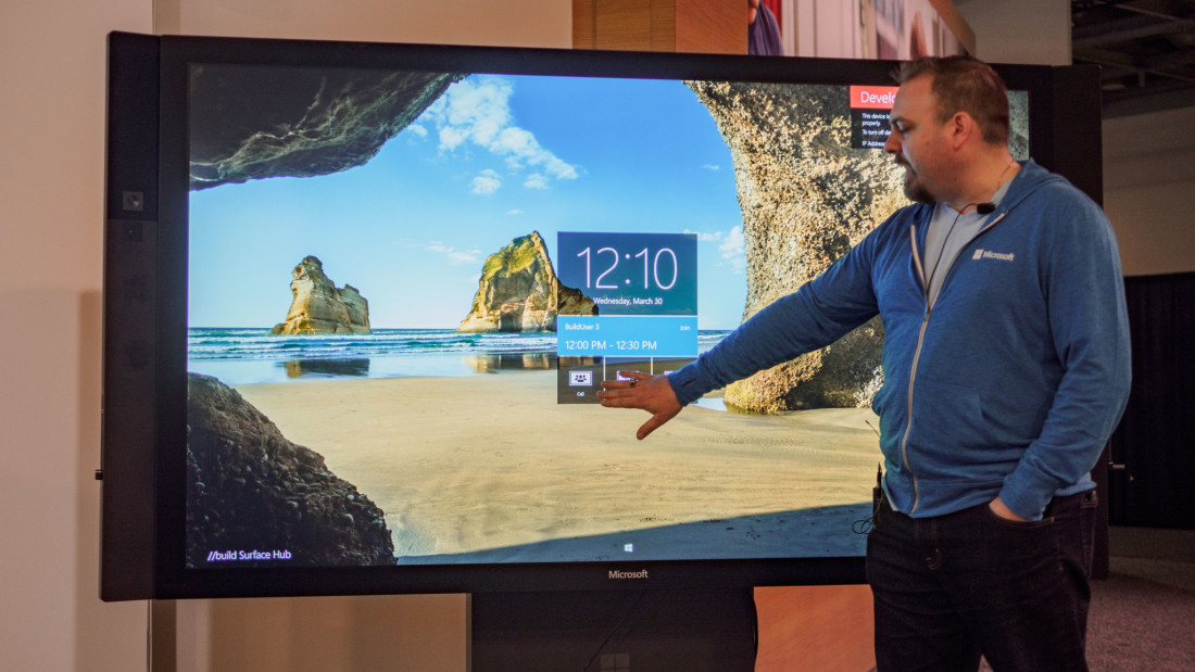 Microsoft makes it painfully simple to develop apps for its massive Surface Hub