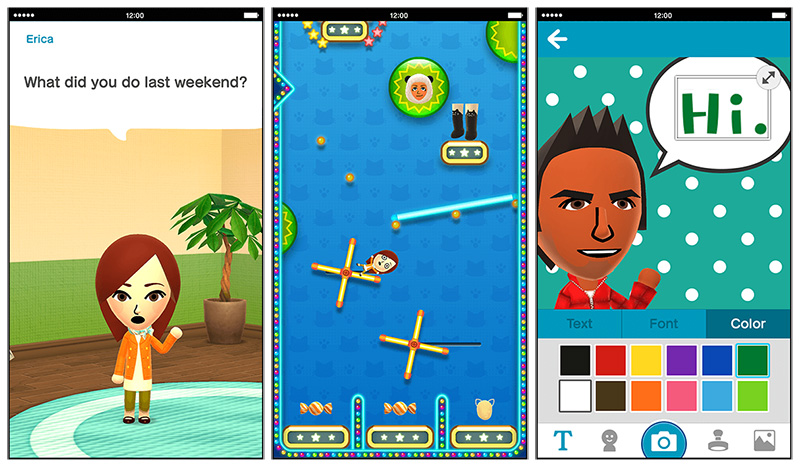 Nintendo's Miitomo social game has already hit 4M users