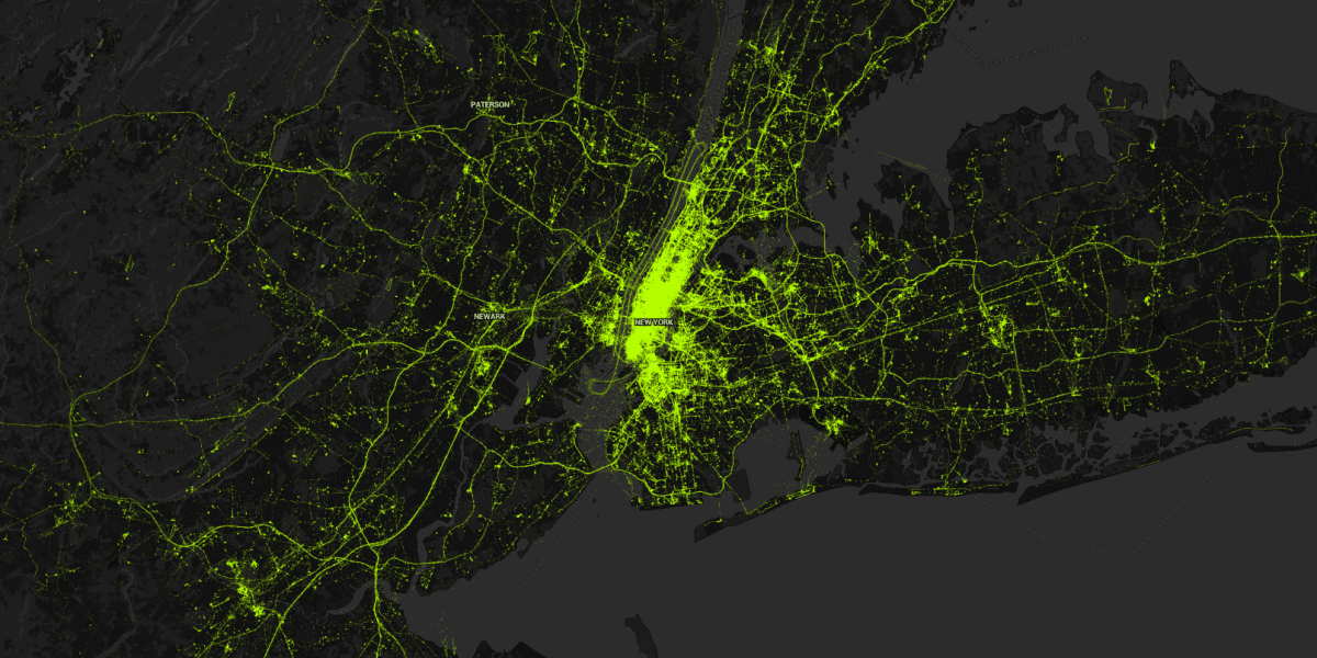 This cool interactive visualization doesn't begin to capture how much data we give away