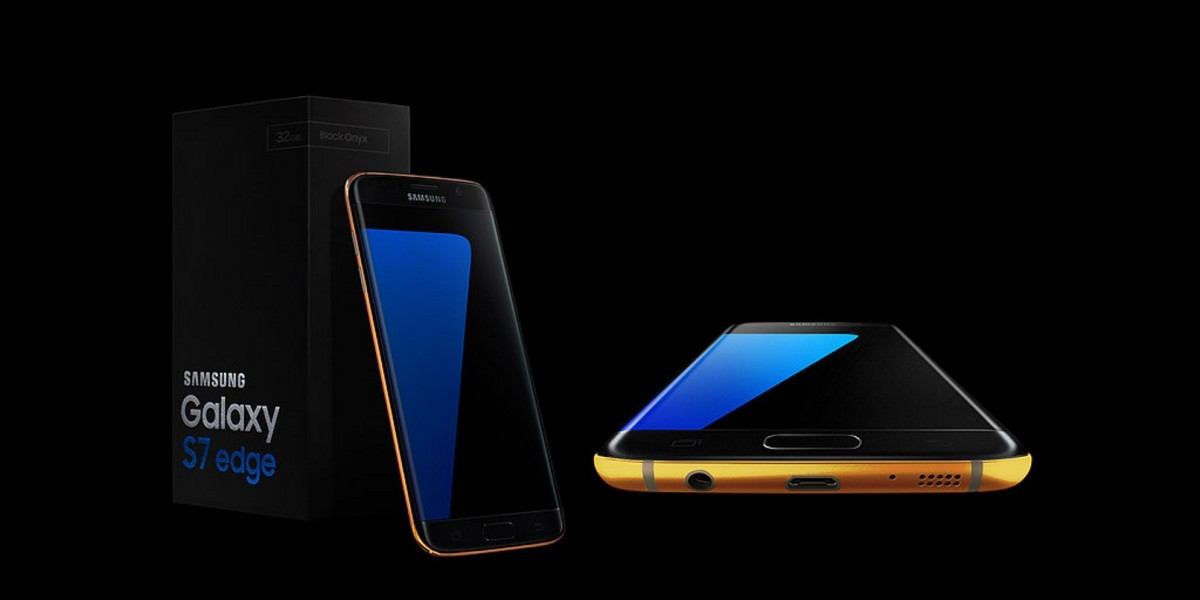 Samsung's Galaxy S7 has been given the gold and platinum treatment already