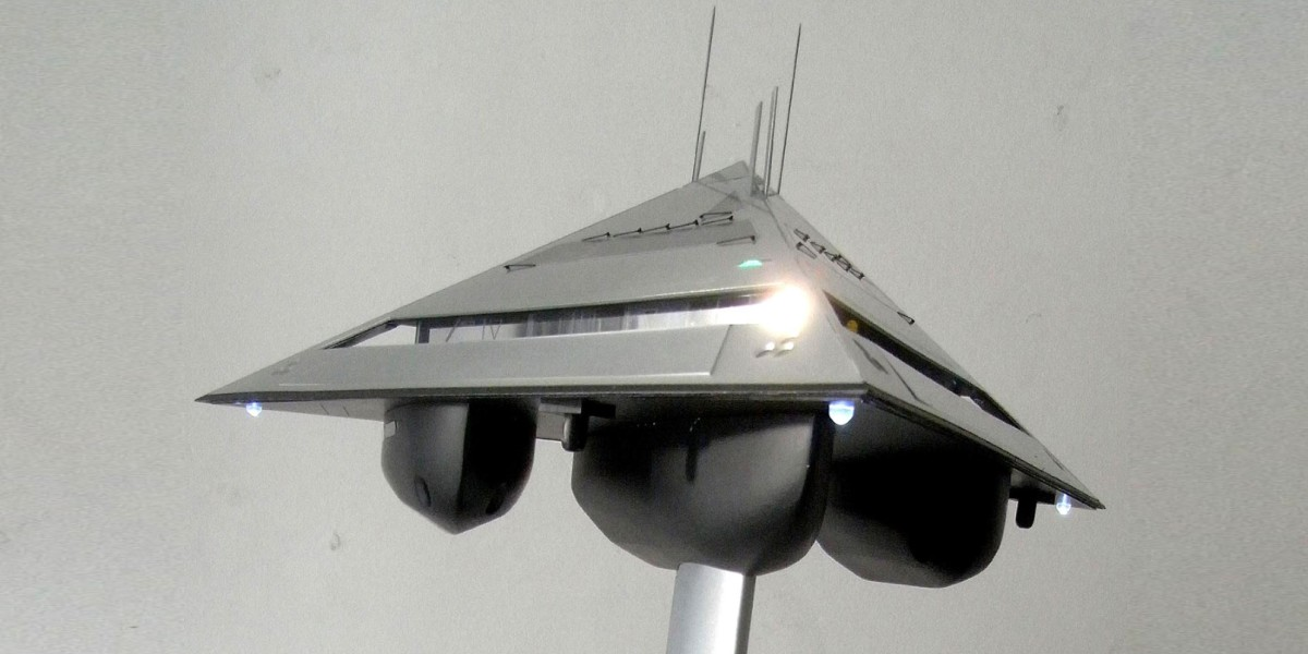 This insane transforming superyacht concept looks like a UFO from sci-fi fantasy
