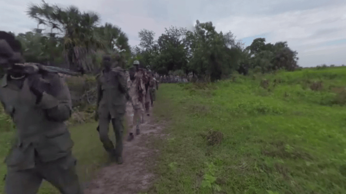 This VR documentary takes you inside South Sudan's devastating civil war