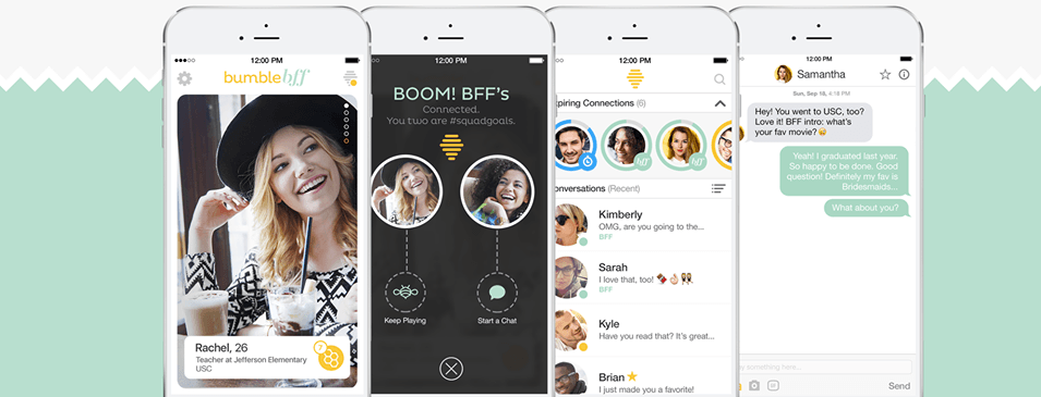Bumble enters the friend zone with new BFF mode