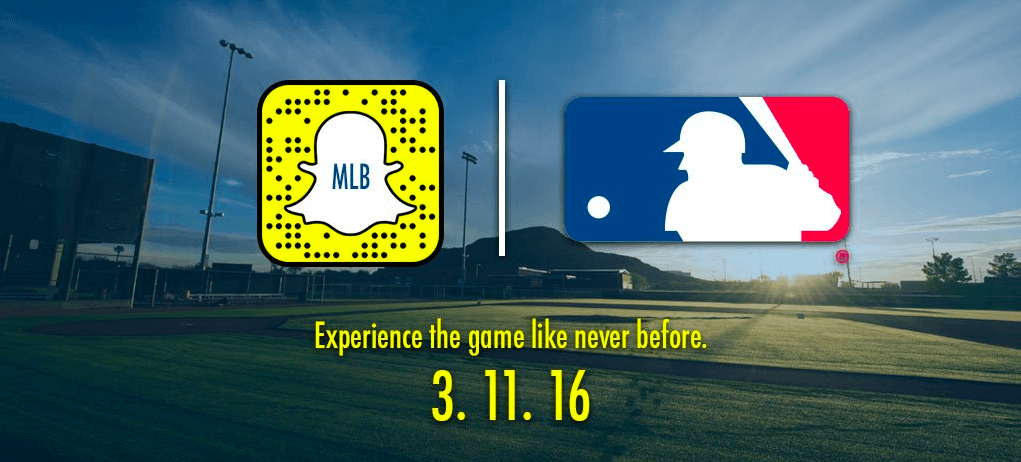 Snapchat Day is a real thing and it's all about baseball