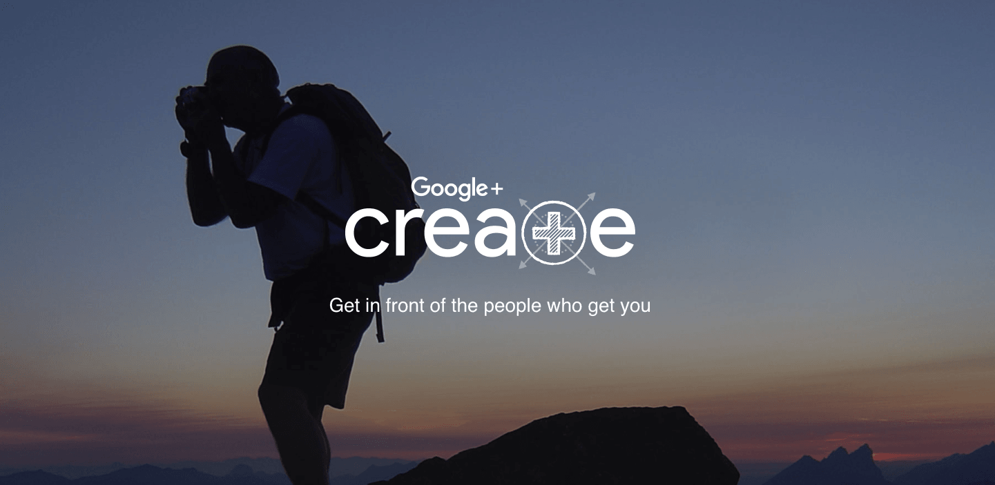 Google's new 'Create' site is Google+ personified
