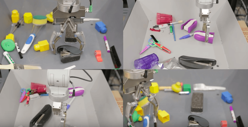 Google's robotic arms are teaching themselves to do things and it's terrifying