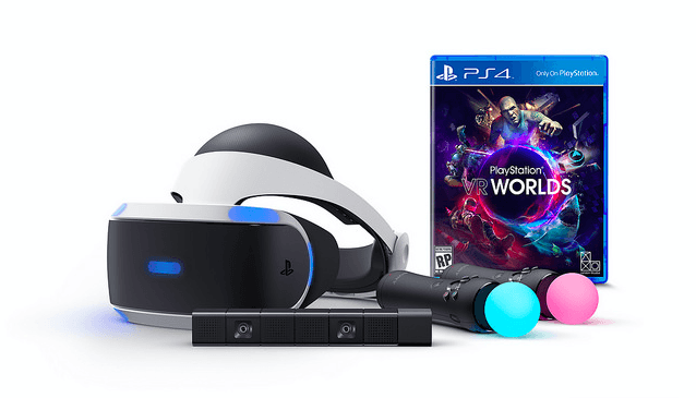 You can order the PlayStation VR launch bundle right now