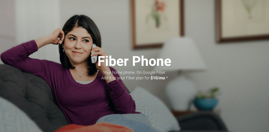 Google introduces 'Fiber Phone,' a $10/mo home phone service for all Fiber cities